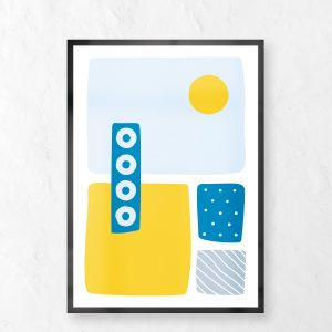 Beach Digital Print