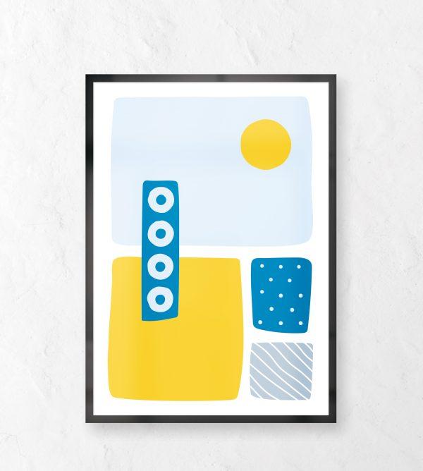 Beach Digital Print