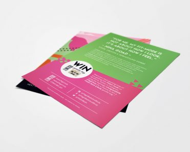 Fit Girl Bath and Body Flyer