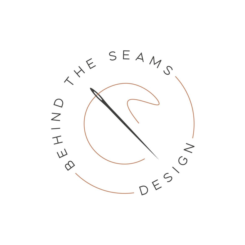 Behind the Seams Design logo