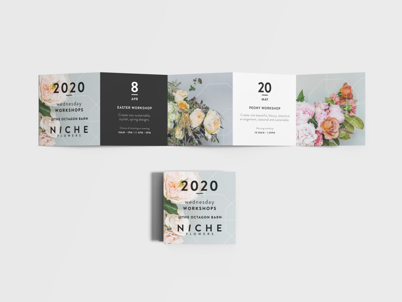 Niche Flowers leaflet