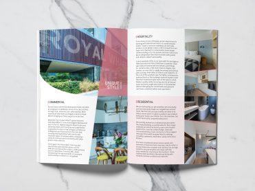 Oxan Furniture brochure