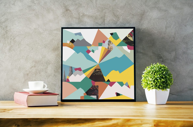 Thai colour-pop print