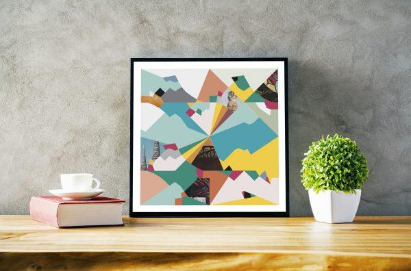 Thai Colour-pop Digital Print